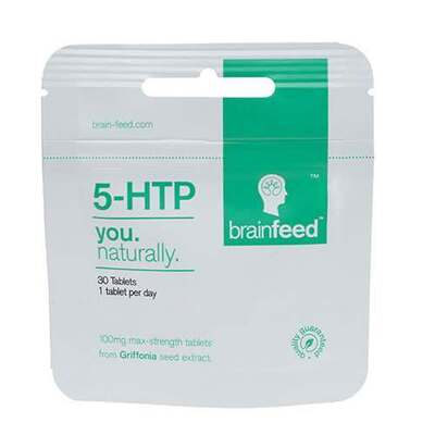 Brainfeed 5-HTP 100mg Max Strength 120 Tablets