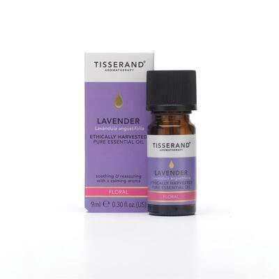 Tisserand Lavender Ethically Harvested Essential Oil 9ml