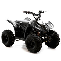 Image of FunBikes Tino Rally 750w Black Electric Kids Quad Bike