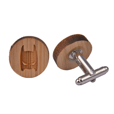 Wooden Cufflinks - Batman
