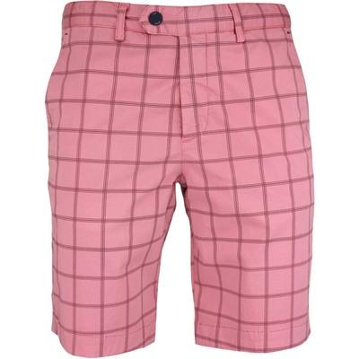 Ted Baker Golf Shorts Printed Chino Pink SS17