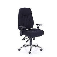 Image of Barcelona Plus Task Operator Chair Black Fabric