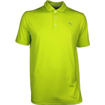 Puma Golf Shirt Essential Pounce NRGY Yellow AW17
