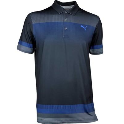 Puma Golf Shirt Untucked Black AW17