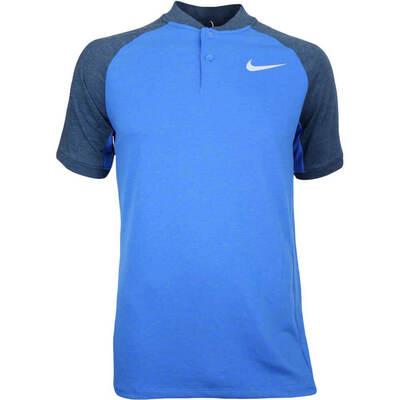 Nike Golf Shirt NK Dry Raglan Blade Blue Jay AW17