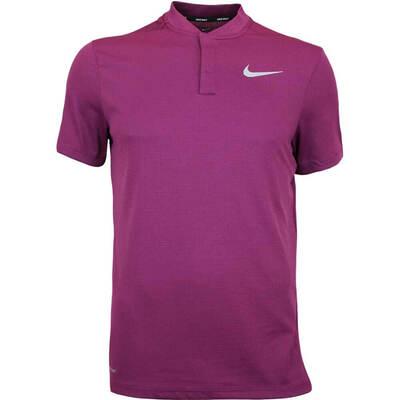 Nike Golf Shirt Aeroreact Blade Bordeaux AW17