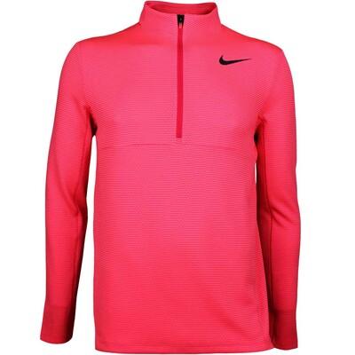 Nike Golf Pullover Aeroreact Half Zip Siren Red AW17
