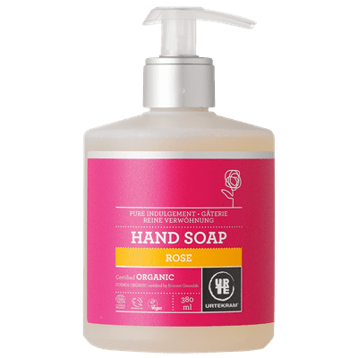 Urtekram Organic Rose Liquid Hand Soap 380ml