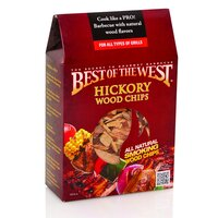Best of the West Hickory Barbecue Smoking Chips 2.4LT