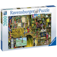 Image of Ravensburger Colin Thompson - Crazy Laboratory, 2000pc Jigsaw puzzle