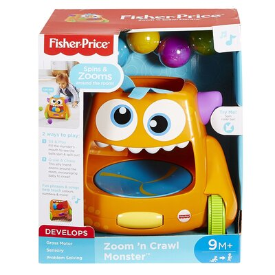 Fisher-price Zoom N Crawl Monster Activity Toy