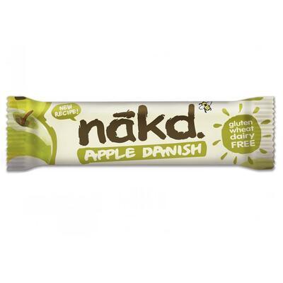 Nakd Apple Danish 30g Bar - Pack of 18