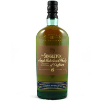 The Singleton of Dufftown 15 Year Old Whisky
