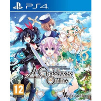 Image of Cyberdimension Neptunia 4 Goddesses Online