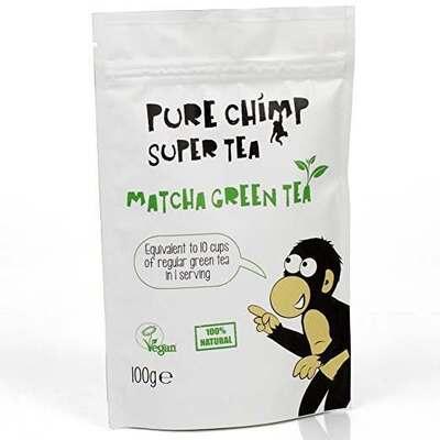 Purechimp Matcha Green Tea Pouch 100g
