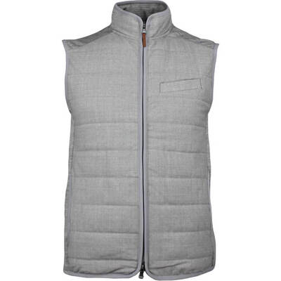 RLX Golf Gilet Quilted Tropwool Taylor Heather SS18