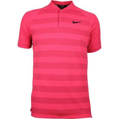 Nike Golf Shirt Zonal Cooling Momentum Blade Tropical Pink SS18