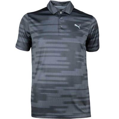 Puma Golf Shirt PWRCOOL Blur LE Black SS18