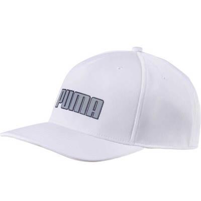 Puma Golf Cap Go Time Snapback Bright White AW18