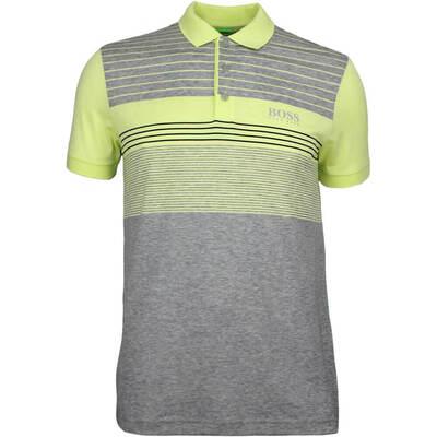 Hugo Boss Golf Shirt Paddy Pro 1 Grey Melange SP18