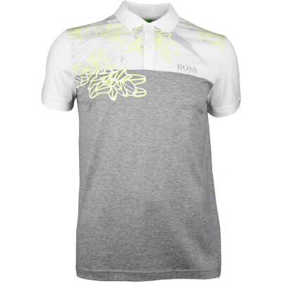 Hugo Boss Golf Shirt Paddy MK 1 Grey Melange SP18