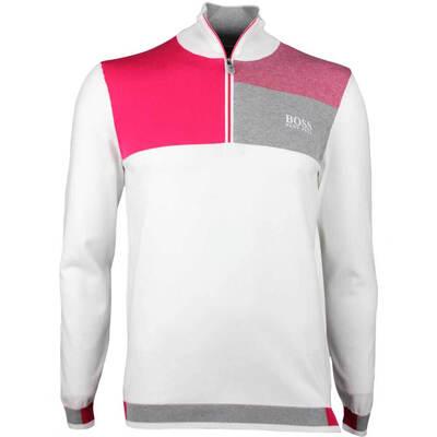 Hugo Boss Golf Jumper Zelchior Pro Training White SP18