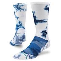 Stance Golf Socks - Spyglass Crew - White - Navy 2018