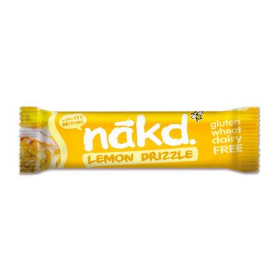Nakd Lemon Drizzle 35g Bar - Pack of 18