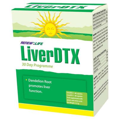 Renew Life LiverDTX Detox 1 & 2 - 30 Day Programme