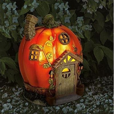 Humpkin Solar Fairy House