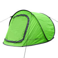 Charles Bentley 2 Man Pop Up Tent †Available in Green and Orange (Colour: Lime Green)