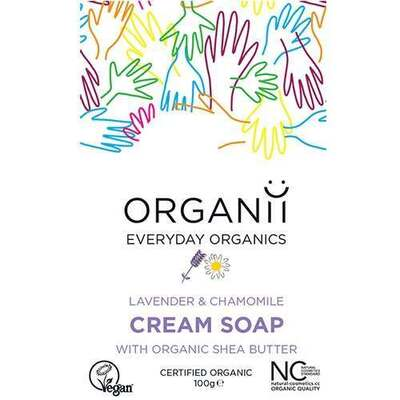 Organii Lavender Soap Bar 100g