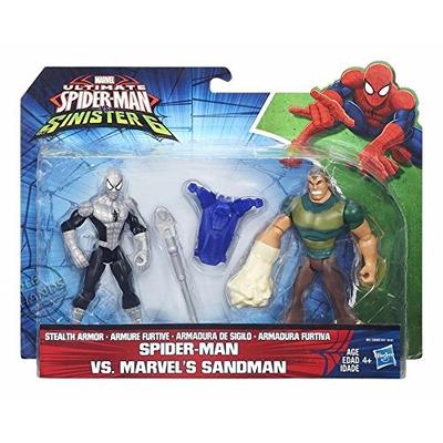 Ultimate Spider Man Sinister 6 Two Figure Battle Pack   Spider Man Vs. Sandman