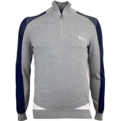 Hugo Boss Golf Jumper Zelchior Pro Grey Melange FA18
