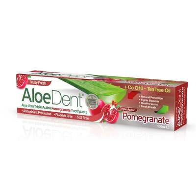 AloeDent Triple Action Pomegranate Toothpaste 100ml