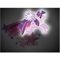 My Little Pony Twilight Sparkle 3D Deco Wall Light / Night Light