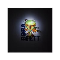 Star Wars Mini 3D LED Wall Light Boba Fett