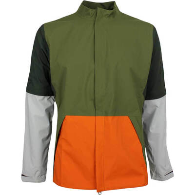Nike Golf Jacket Hypershield Convertible FZ Olive Canvas AW18