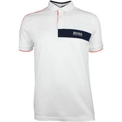 Hugo Boss Golf Shirt Paddy MK 1 Training White FA18