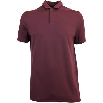 Nike Golf Shirt Aeroreact Victory Burgundy Crush AW18