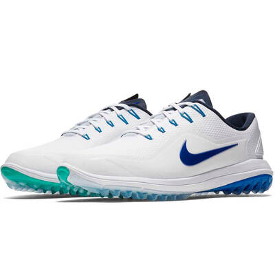 Nike Golf Shoes Lunar Control Vapor 2 White Hyper Royal 2018