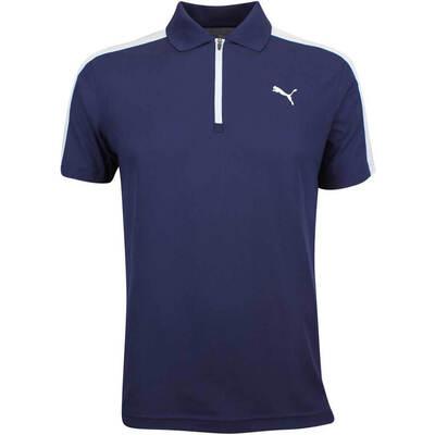 Puma Golf Shirt T7 Polo Peacoat LE AW18