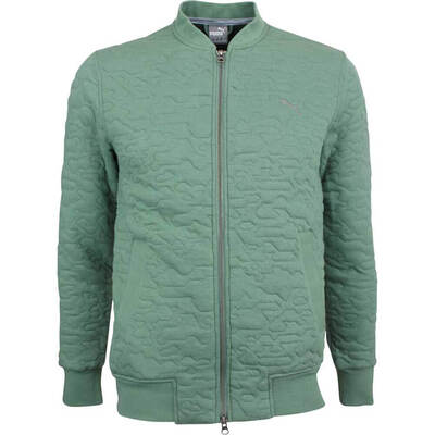 Puma Golf Jacket Quilted Bomber Laurel Wreath LE AW18