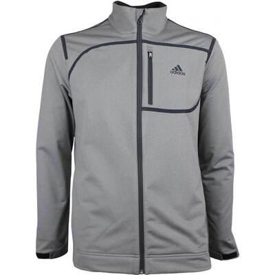 Adidas Golf Jacket Climastorm Soft Shell Grey Four AW18