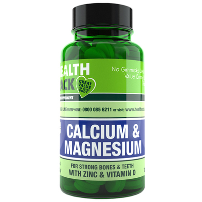 Calcium, Magnesium & Zinc with Vitamin D 200mg Tablets