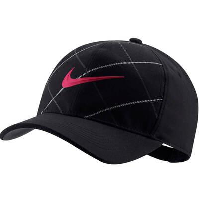 Nike Golf Cap Classic 99 Snapback Open Tartan Black 2018