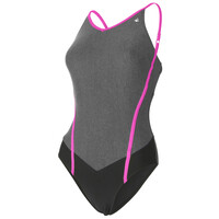 Aqua Sphere Muriel Ladies Swimsuit - Black/Grey, 36