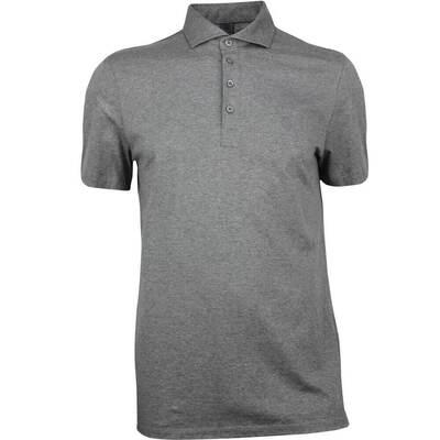GFORE Golf Shirt Essential Polo Heather Grey AW18