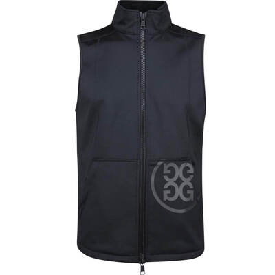 GFORE Golf Gilet Tech Fleece Vest Onyx AW18
