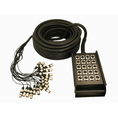 16 Inputs 4 Outputs Stage Box Snake 30m